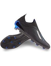 adidas X 18+ FG, Bota de fútbol, Core Black-Bold Blue