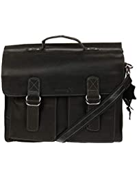 dee699d279eea Kossberg XXL Vintage Leder Shopper Tasche Unisex Aktentasche Lehrertasche  Schultasche Vintage Modell Cian
