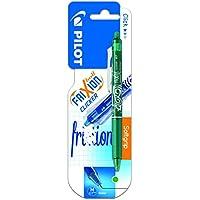 Pilot Spain Frixion Clicker - Bolígrafo tinta de gel, punto medio, color verde