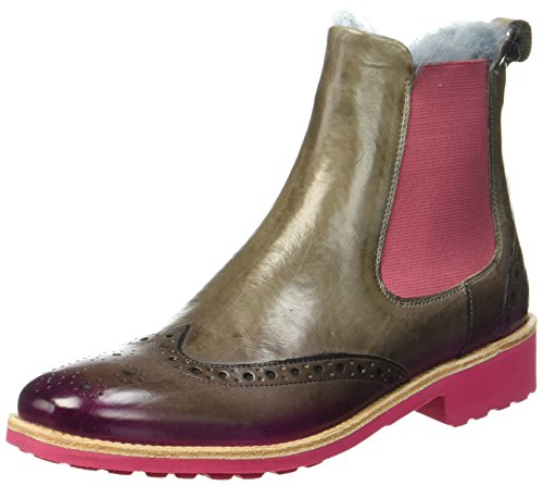 Melvin & Hamilton Damen Amelie 5 Chelsea Boots, Braun (Brown), 41 EU