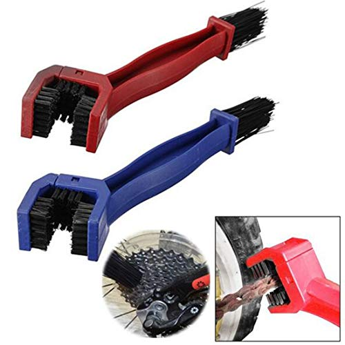 Cycling Motorcycle Chain Clean Brush Gear Grunge Brush Cleaner Outdoor Cleaner Scrubber Tool Random Color