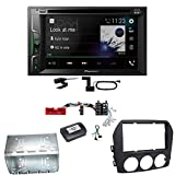 Pioneer AVH-A3200DAB USB Bluetooth Digitalradio DAB+ Autoradio Touchscreen Moniceiver Freisprecheinrichtung Weblink WAV Flac MP3 CD DVD Einbauset für Mazda MX-5 NC