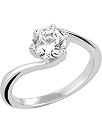 Valentine Gift : The Promise Solitaire Ring PR8074
