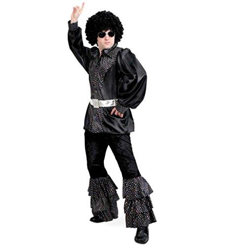 KarnevalsTeufel Herrenkostüm Ben Coverband Disco Popstar 70er 80er Jahre Anzug Gr M - XXL - 80er Jahre Familie Kostüm
