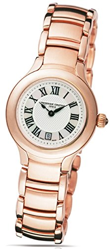 Frederique Constant Delight FC-220M2ER4B 31mm Gold Plated Stainless Steel Case Rose Gold Gold Plated Stainless Steel Anti-Reflective Sapphire Women's Watch
