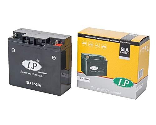 LANDPORT SLA 12-20A Batterie 12V 20aH für Rasenmäher, Rasentraktor, Aufsitzmäher [inkl. 7.50 Batteriepfand]