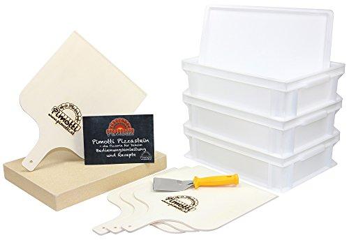 Pimotti Pizzabäcker Set/Brotbäcker Set Premium