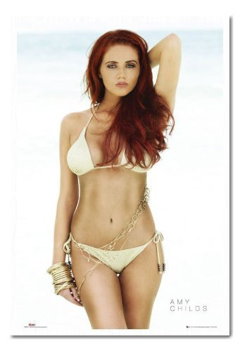 Amy Childs The Only Way is Essex Poster Sughero Pin Lavagnetta Bianco Con cornice - 96.5 x 66 cms (circa 96,5 x 66 cm)
