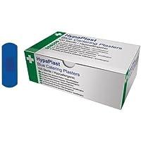 Blue Detectable Plasters 2.5 x 7cm box 100 - Waterproof. preisvergleich bei billige-tabletten.eu