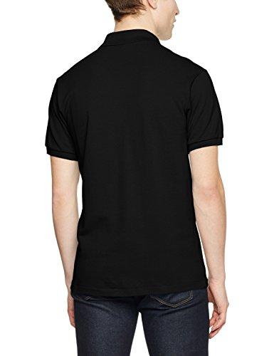 Lacoste Herren Poloshirt Schwarz (Noir/Marine-Blanc)