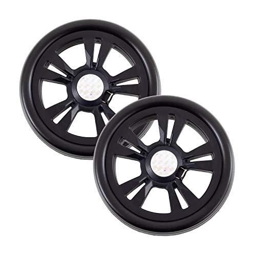 Andersen Ersatzrad-Set für Scala Einkaufstrolley und Quattro (Vorderrad), Ø 150 mm, schwarz