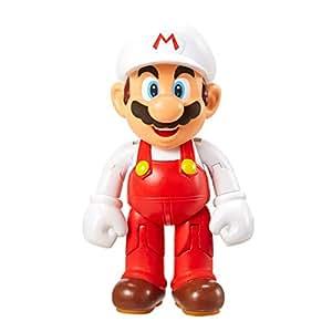"World of Nintendo Super Mario - Fire Mario 4"" Action Figure"