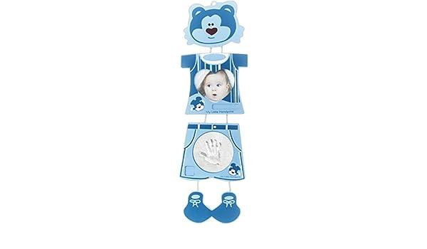 Blau BIECO 76000074 Abdruckset mit Bilderrahmen Tiger