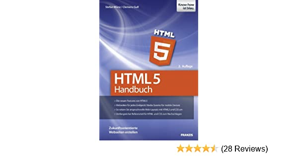Html 5 Handbuch Ebook Clemens Gull Stefan Münz Amazonde Kindle Shop