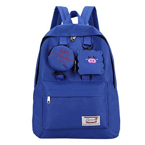 LEEDY Damen Rucksack Studenten Süß Outdoor Schultasche Daypacks Lässiger Mädchen Sport Daypacks Schüler Backpacks Wandern Reisen Camping