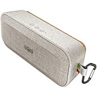 House of Marley No Bounds XL Waterproof Bluetooth Speaker, 16 Hour Battery, Rugged, Dust Proof IP67, Carabiner Clip, Quick Charge, Wireless Dual Pairing, Speakerphone - Grey preiswert