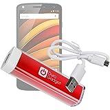 Batterie externe 2600mAh pour Motorola Moto X Force Smartphone 4G de 5,4 pouces - charge via cable USB fourni par DURAGADGET
