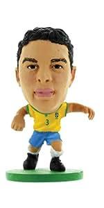 Soccerstarz - 77006 - Figurine - Sport - Equipe De Brésil - Thiago Silva