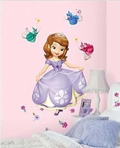 Princesse Sofia - Les premières Maxi Adhesif XL Sticker Mural Géant