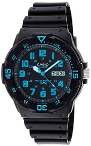 Casio Enticer Analog Black Dial Men's Watch - MRW-200H-2BVDF (A742)