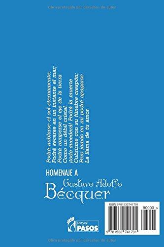 I Homenaje Poetico a Gustavo Adolfo Becquer Pasos Editorial
