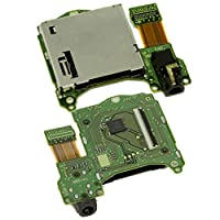 Yzki Nintendo Switch Game Card Slot Board Headphone Jack Port Game Cartridge Card Slot Reader For Nintendo(as shown)