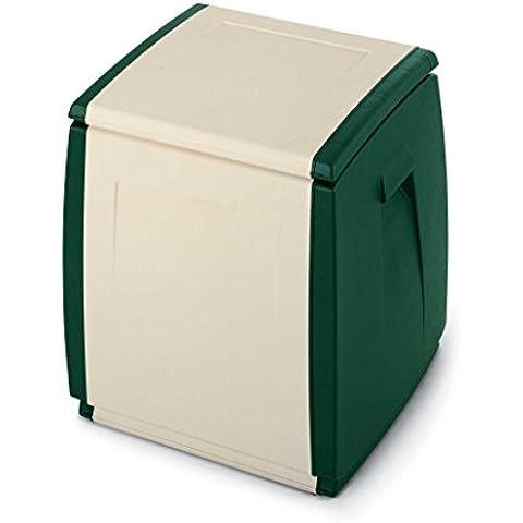 Contenitore multiuso in plastica da interno/esterno, mis. 540 L x 540 P x 570 H mm