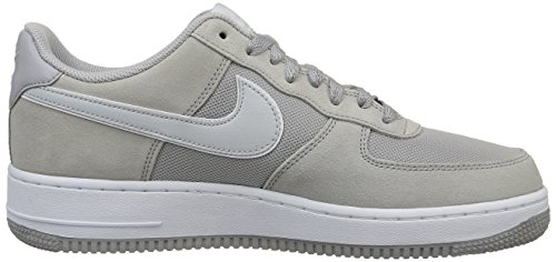 Nike Air Force 1, Chaussures de running entrainement homme Gris - Grau (Wolf Grey/Pure Platinum-White)