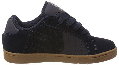 Etnies Herren Fader 2 Skateboardschuhe Blau (413-Navy/Grey/Gum)