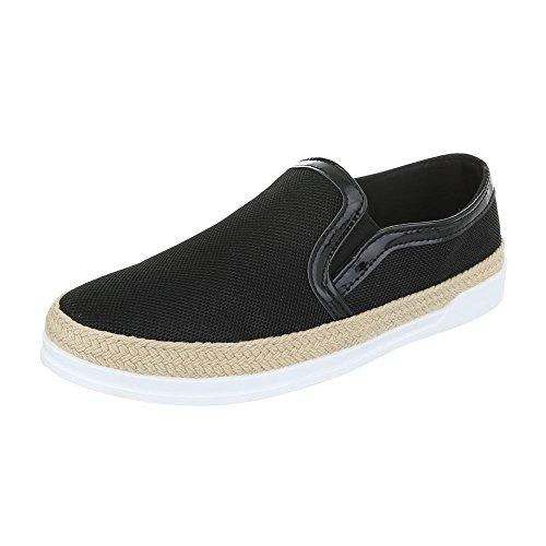 Baixos Preto Das Chinelo Mulheres Design Ital Baixos Sapatos Sapatos De Trecho top RZnxSP