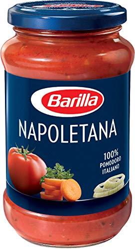 Barilla Pastasauce Napoletana – Italienische Sauce 1 Glas (1x400g)