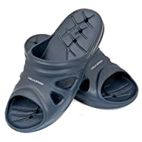 Aqua-Speed Florida Pool Men Shoes, Navy, Size 41