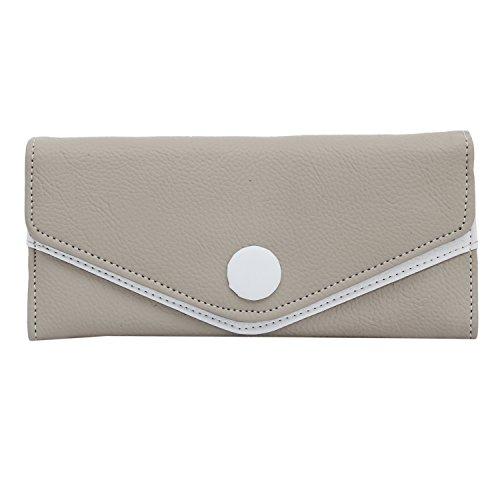 Bagaholics Long Clutch Girls Mobile Pouch Wallet Women Clutches Ladies Purse (Grey)