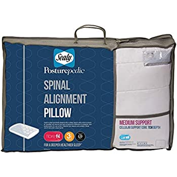 Sealy Posturepedic Spinal Alignment Pillow Core Depth 7cm