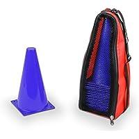 Vinex 20 Conos de señalización – con bolsa de transporte – azul
