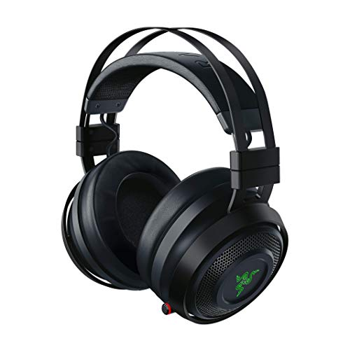 Razer Nari Ultimate - Kabelloses Gaming Headset (Wireless Gaming Headset mit HyperSense Technologie, THX Spatial Audio 360° & RGB Chroma für PC, PS4, Xbox One & Switch)