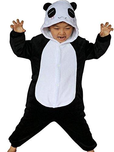 Imagen de abyed kigurumi pijamas unisexo adulto traje disfraz adulto animal pyjamas,panda chidren tamaño 115 para altura 126 137cm