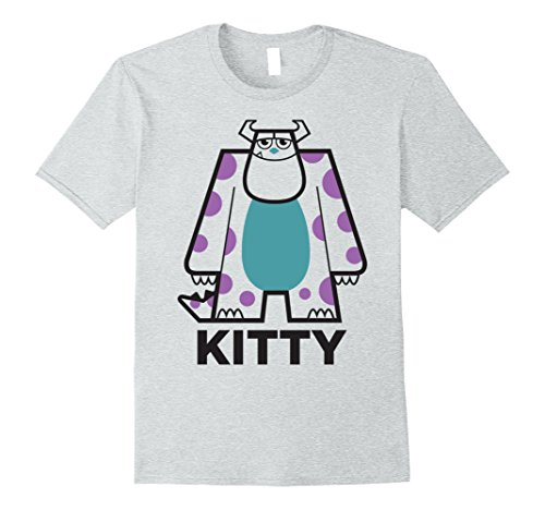 Inc. Kitty Sulley Graphic T-Shirt Medium Heather Grey (Kitty Monsters Inc)