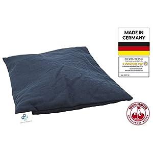 Kirschkernkissen 25x30cm, Körnerkissen, Wärmekissen Groß, NATUR Kissen XXL natürliche Kirschkerne, Made in GERMANY und Öko-Tex 100 Zertifikat