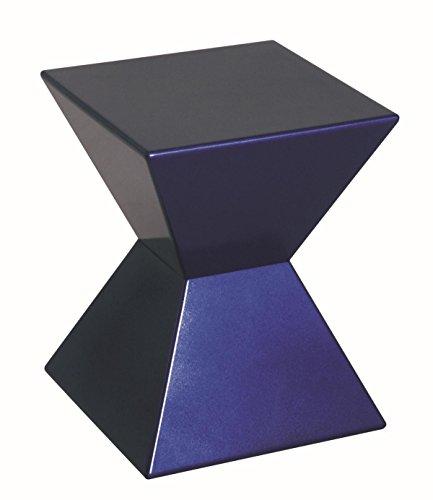 HAKU Möbel 87900 Beistelltisch 35 x 35 x 43 cm, blau