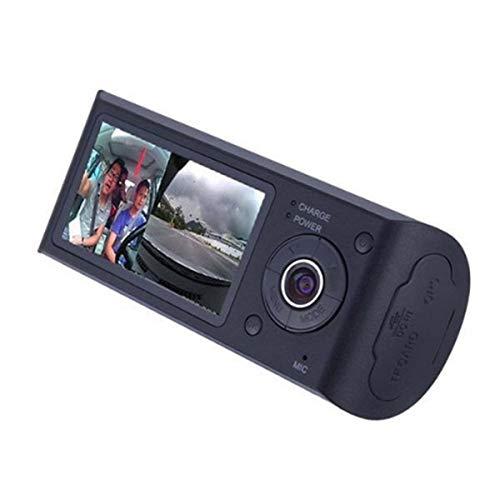 "HaiQianXin Dash Camera 2.7""Kfz-Auto-DVR-Kamera Videorecorder Dash Cam G-Sensor GPS Dual-Len-Kamera"