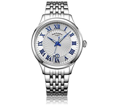 che Zahl Edelstahl Armband Armbanduhr ()