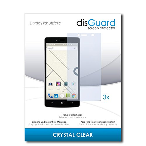 disGuard® Bildschirmschutzfolie [Crystal Clear] kompatibel mit Commodore PET [3 Stück] Kristallklar, Transparent, Unsichtbar, Extrem Kratzfest, Anti-Fingerabdruck - Panzerglas Folie, Schutzfolie
