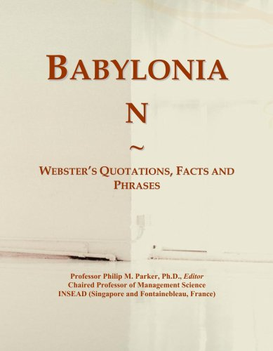 Babylonian: Webster's Quotations, Facts and Phrases