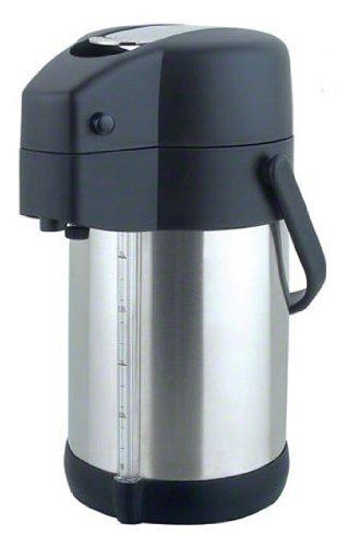 Update International (LSG-22/BK) 2 Liter Stainless Steel Airpot by Update International Update Airpot