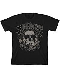 Official T Shirt SHINEDOWN Cut The Chord 'Pocket Knife Skull' All Sizes