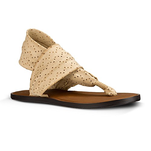 Sanuk Yoga Sling 2 Sandals Women Light Khaki