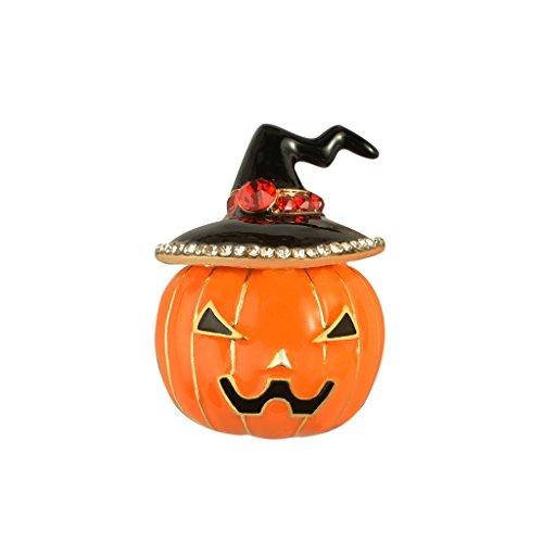Zink-Legierungs-Brosche-Stifte Halloween-Kürbis-Brustpin-Kostüm-Schmucksachen (Lustige Frau Halloween Kostüme)