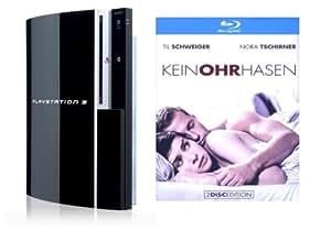 PlayStation 3 Konsole 80 GB (inkl. Dual Shock Wireless Controller) + Keinohrhasen (Blu-ray)