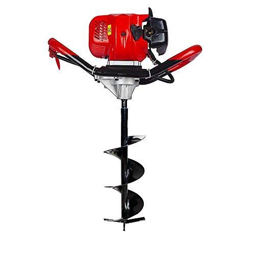 New 2.2HP Gas Powered Post Loch Bagger W/20,3cm Schlangenbohrer 49cc Power Motor - Powered Bagger